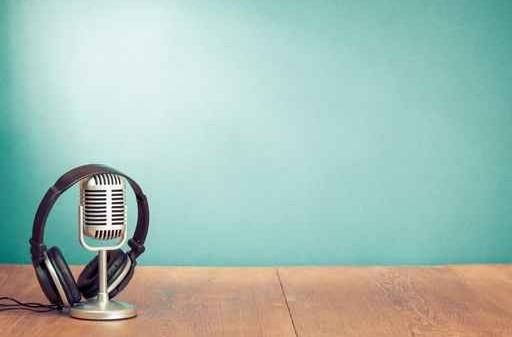 microphone and headphones for recording / für ausdio oder video Aufnahmen
